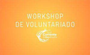 WorkShop de Voluntariado